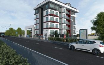 Квартиры в новом комплексе рядом с морем в Кестеле