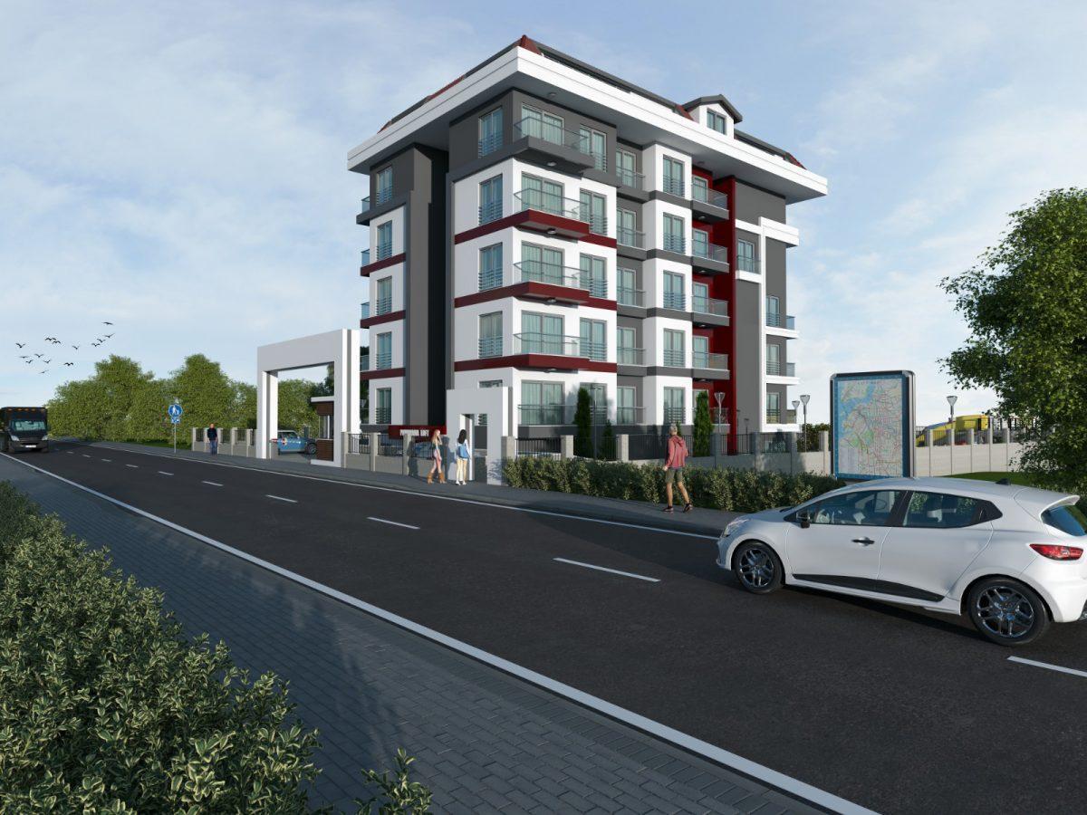 Квартиры в новом комплексе рядом с морем в Кестеле - Фото 1