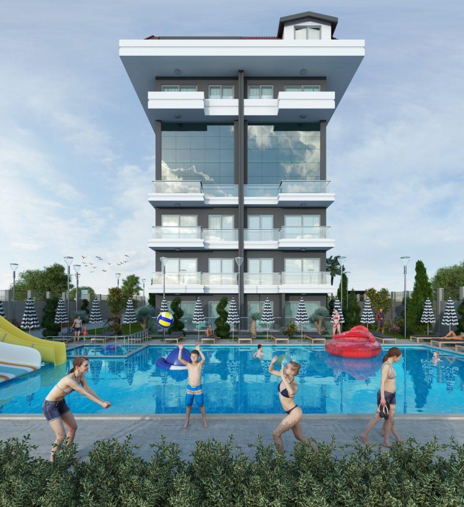 Квартиры в новом комплексе рядом с морем в Кестеле - Фото 3
