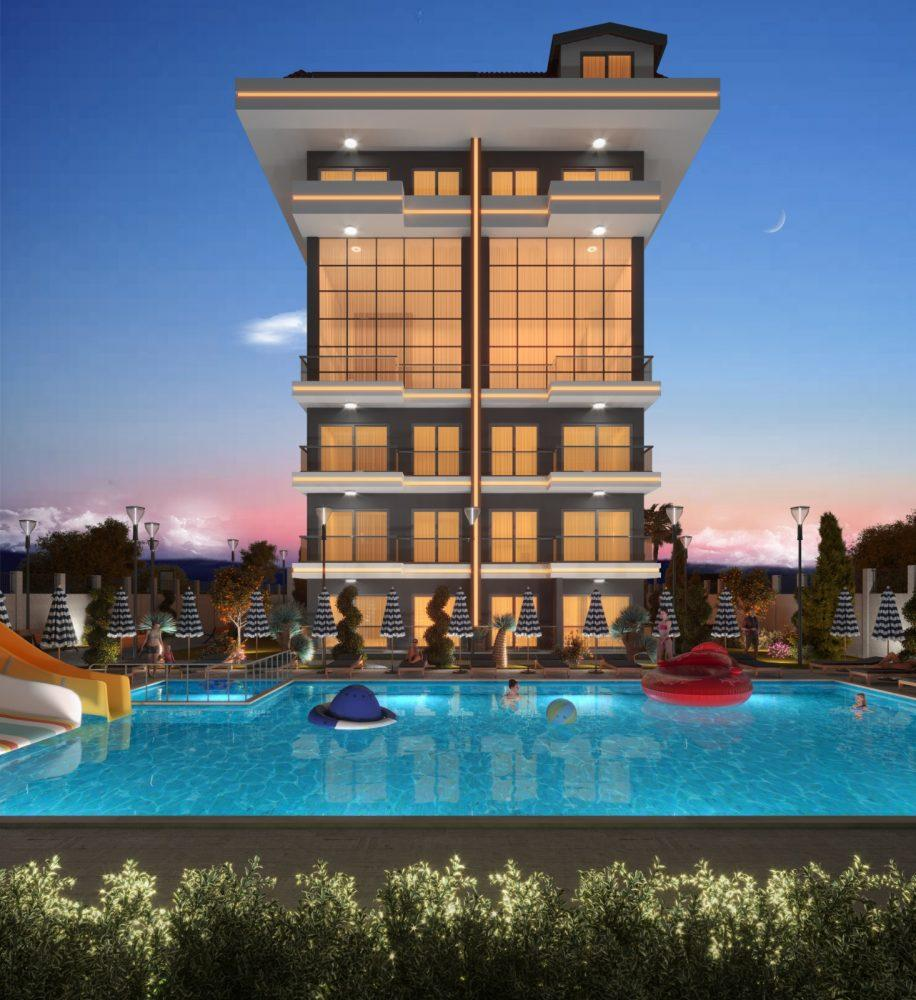 Квартиры в новом комплексе рядом с морем в Кестеле - Фото 4