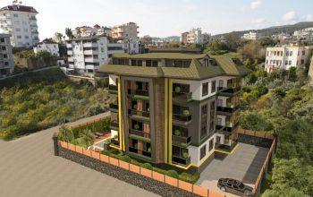 Новый строящийся комплекс с просторными квартирами в Авсалларе