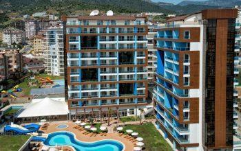 Стильные апартаменты 2+1 с инфраструктурой отеля 5 в Джикджилли