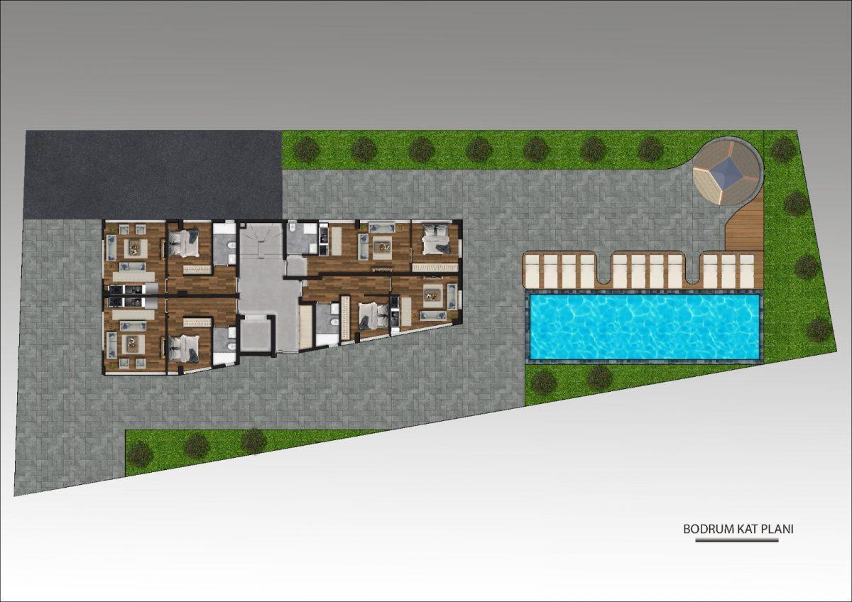 Новый строящийся проект в Анталии рядом с морем - Фото 11