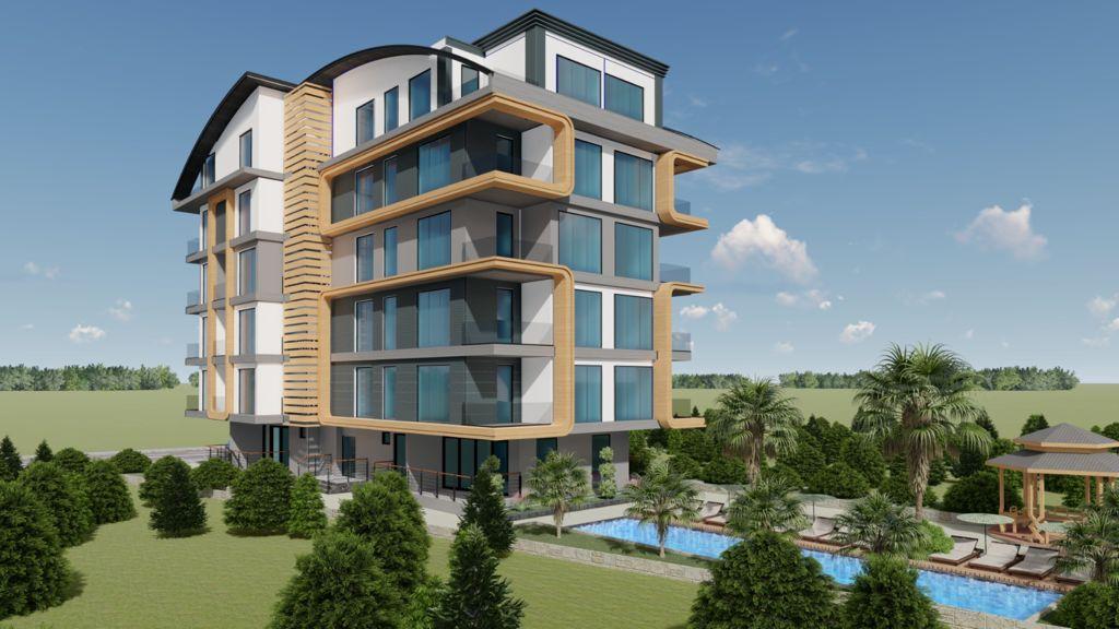 Новый строящийся проект в Анталии рядом с морем - Фото 5