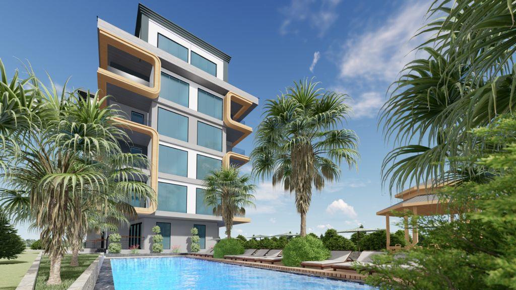 Новый строящийся проект в Анталии рядом с морем - Фото 7
