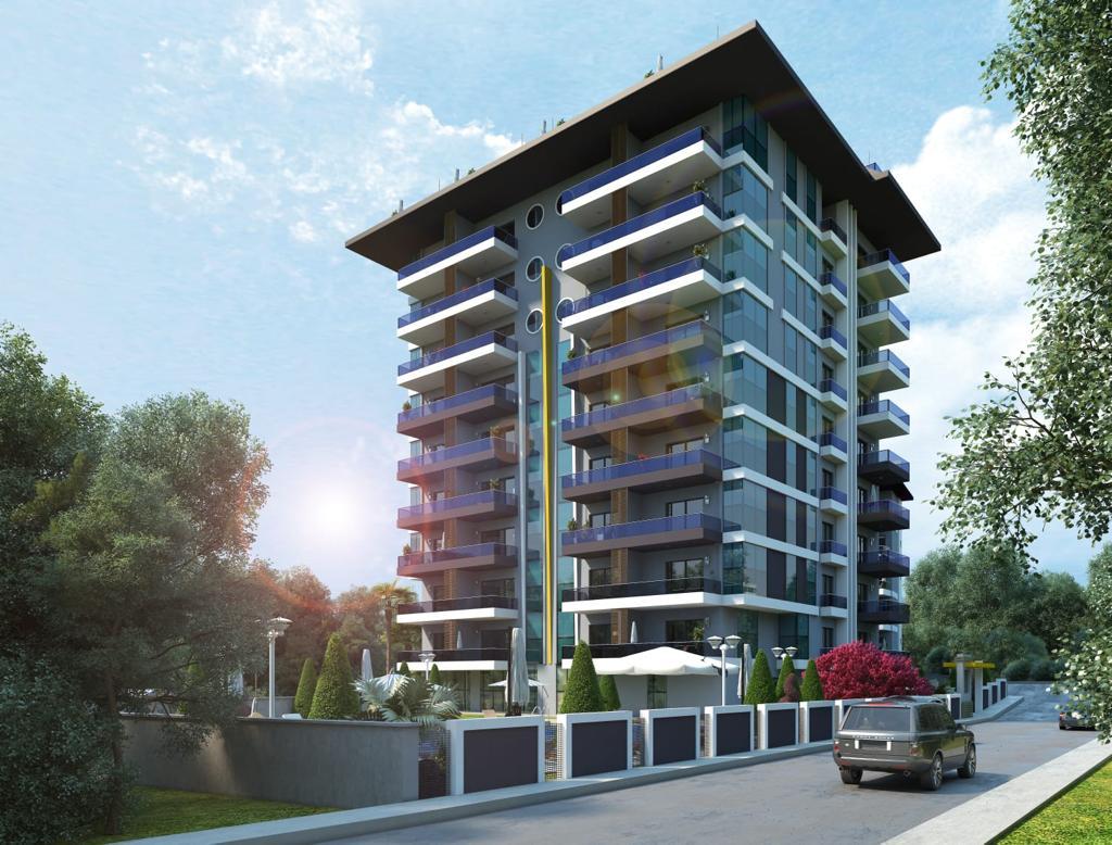 Квартиры в строящемся комплексе с хорошей инфраструктурой в Махмутларе - Фото 5