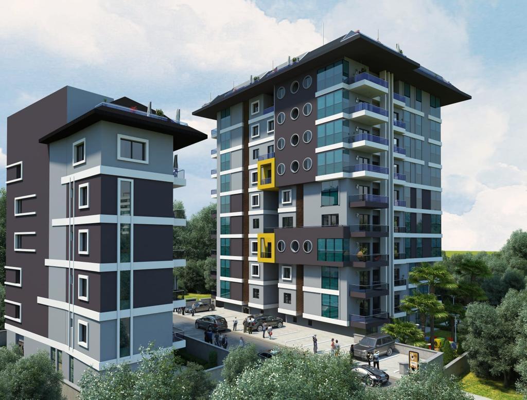 Квартиры в строящемся комплексе с хорошей инфраструктурой в Махмутларе - Фото 6