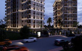 Строящийся комплекс в центре Алании с отельной инфраструктурой