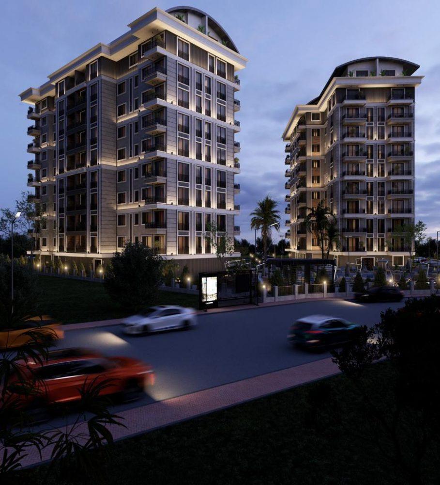 Строящийся комплекс в центре Алании с отельной инфраструктурой - Фото 1