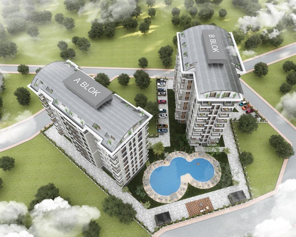 Строящийся комплекс в центре Алании с отельной инфраструктурой - Фото 8