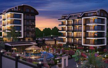 Апартаменты в новом люксовом ЖК в Каргыджаке