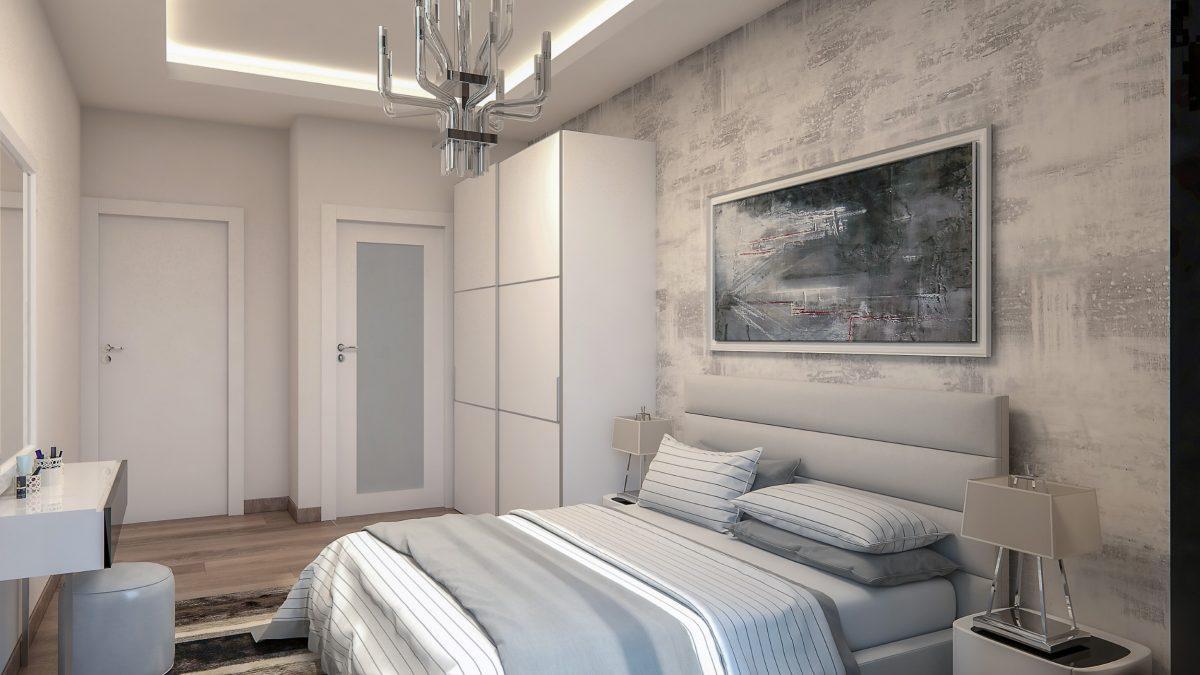 Новые квартиры в комплексе рядом с морем в Махмутларе - Фото 25